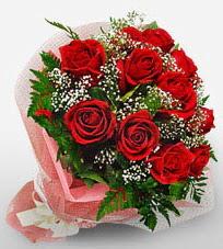 12 adet kırmızı güllerden kaliteli gül  Zonguldak çiçek siparişi vermek