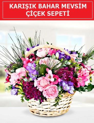 Karışık mevsim bahar çiçekleri  Zonguldak çiçekçi telefonları