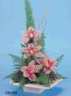 Zonguldak ucuz çiçek gönder  vazoda 4 adet orkide