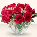 Zonguldak çiçek online çiçek siparişi  mika yada cam içerisinde 10 gül - sevenler için ideal seçim -