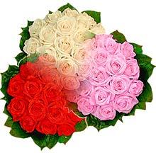 3 renkte gül seven sever   Zonguldak çiçek , çiçekçi , çiçekçilik