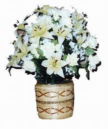 yapay karisik çiçek sepeti   Zonguldak çiçek mağazası , çiçekçi adresleri
