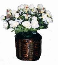 yapay karisik çiçek sepeti   Zonguldak cicek , cicekci