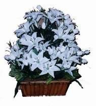 yapay karisik çiçek sepeti   Zonguldak online çiçek gönderme sipariş