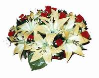 yapay karisik çiçek sepeti   Zonguldak internetten çiçek siparişi