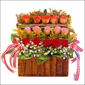 sandikta 3 kat güllerden   Zonguldak anneler günü çiçek yolla
