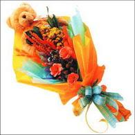 ayicik gül ve kir çiçekleri   Zonguldak İnternetten çiçek siparişi