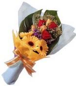 güller ve gerbera çiçekleri   Zonguldak çiçek gönderme sitemiz güvenlidir