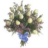bir düzine beyaz gül buketi   Zonguldak çiçek gönderme sitemiz güvenlidir
