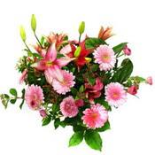 lilyum ve gerbera çiçekleri - çiçek seçimi -  Zonguldak çiçek gönderme
