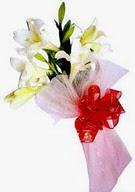 Zonguldak çiçek , çiçekçi , çiçekçilik  ince vazoda gerbera ve ayi