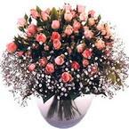 büyük cam fanusta güller   Zonguldak çiçek yolla