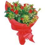 10 adet kirmizi gül buketi  Zonguldak çiçek yolla