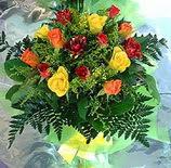 13 adet karisik gül buketi demeti   Zonguldak uluslararası çiçek gönderme