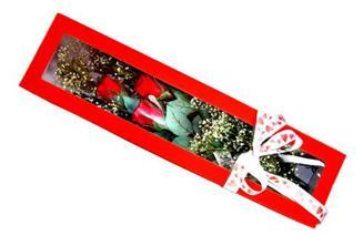 Zonguldak hediye çiçek yolla  Kutuda 3 adet gül