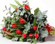 Zonguldak çiçek satışı  11 adet kirmizi gül buketi özel günler için