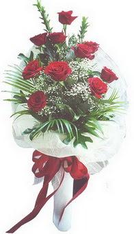Zonguldak hediye çiçek yolla  10 adet kirmizi gülden buket tanzimi özel anlara