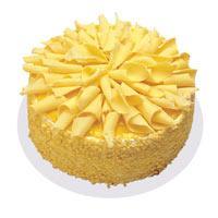 Muzlu pasta 4 ile 6 kisilik yas pasta  Zonguldak ucuz çiçek gönder