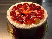 Meyvali yas pasta 4 ile 6 kisilik pasta  Zonguldak çiçek siparişi sitesi