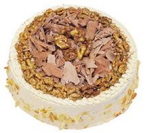 Karamelli 4 ile 6 kisilik yas pasta  Zonguldak çiçek yolla