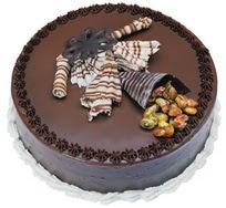 Çikolatali yas pasta 4 ile 6 kisilik  leziz  Zonguldak çiçek mağazası , çiçekçi adresleri