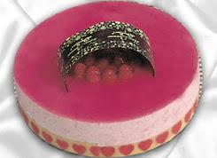 pasta siparisi 4 ile 6 kisilik yas pasta framboaz yaspasta  Zonguldak güvenli kaliteli hızlı çiçek