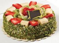 pasta gönder  4 ile 6 kisilik karisik meyvali yas pasta  Zonguldak internetten çiçek siparişi