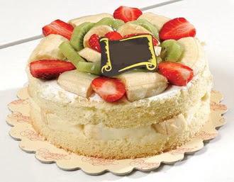 pasta siparisi 4 ile 6 kisilik karisik meyvali yas pasta  Zonguldak çiçek servisi , çiçekçi adresleri