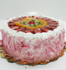 görsel pastacilar 4 ile 6 kisilik yas pasta karisik meyvali  Zonguldak çiçek online çiçek siparişi