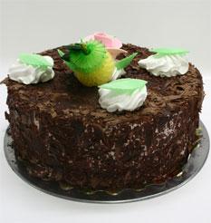 4 ile 6 kisilik yas pasta çikolatali leziz pastane ürünü  Zonguldak anneler günü çiçek yolla