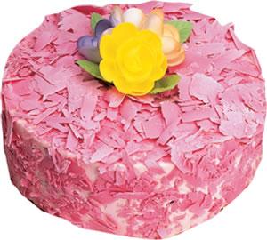 pasta siparisi 4 ile 6 kisilik framboazli yas pasta  Zonguldak çiçek yolla