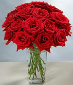 Zonguldak çiçek siparişi sitesi  Sevdiklerinize özel ürün 12 adet cam içerisinde kirmizi gül  Zonguldak hediye çiçek yolla