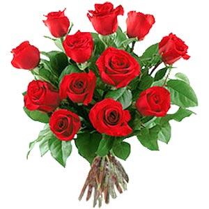 11 adet bakara kirmizi gül buketi  Zonguldak güvenli kaliteli hızlı çiçek