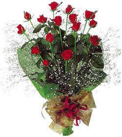 11 adet kirmizi gül buketi özel hediyelik  Zonguldak İnternetten çiçek siparişi