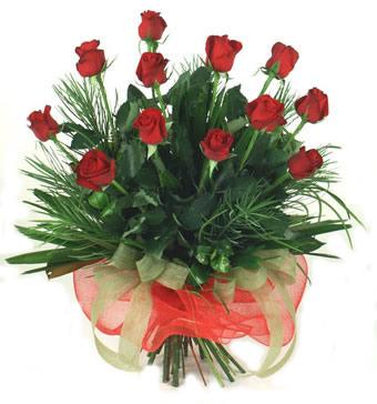 Çiçek yolla 12 adet kirmizi gül buketi  Zonguldak güvenli kaliteli hızlı çiçek