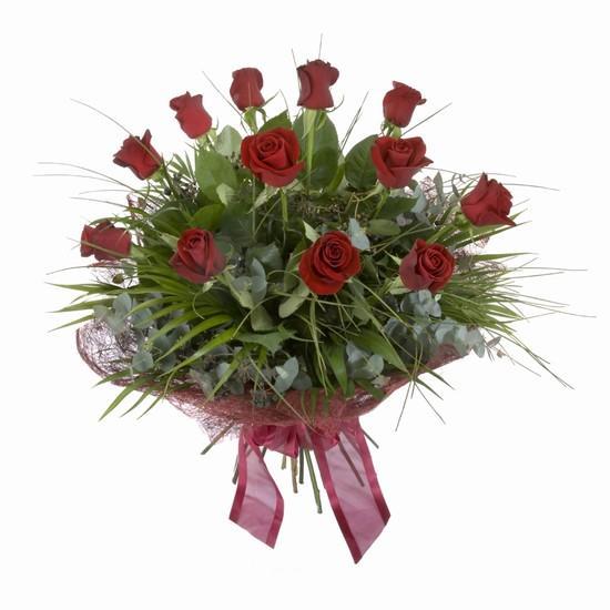 Etkileyici buket 11 adet kirmizi gül buketi  Zonguldak internetten çiçek satışı