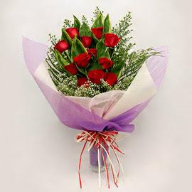 çiçekçi dükkanindan 11 adet gül buket  Zonguldak İnternetten çiçek siparişi