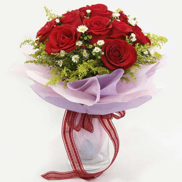 Çiçek gönderme estetikliginiz 11 gül buket  Zonguldak İnternetten çiçek siparişi