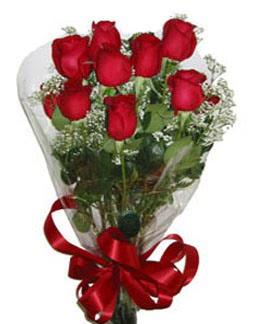 Çiçek sade gül buketi 7 güllü buket  Zonguldak online çiçek gönderme sipariş