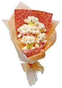 12 adet ayiciktan buket  Zonguldak çiçek siparişi sitesi