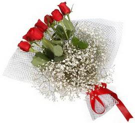 7 adet essiz kalitede kirmizi gül buketi  Zonguldak hediye sevgilime hediye çiçek