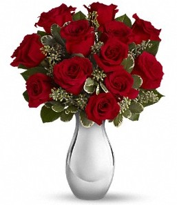 Zonguldak çiçek siparişi vermek   vazo içerisinde 11 adet kırmızı gül tanzimi