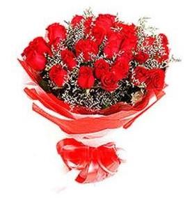 Zonguldak çiçek mağazası , çiçekçi adresleri  12 adet kırmızı güllerden görsel buket