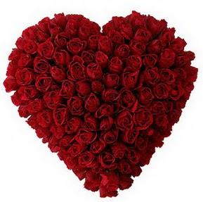 Zonguldak İnternetten çiçek siparişi  muhteşem kırmızı güllerden kalp çiçeği