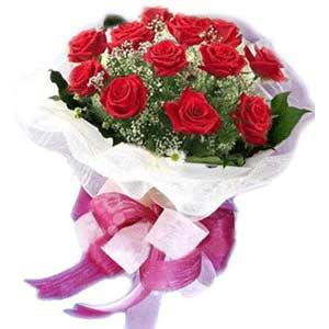 Zonguldak çiçek satışı  11 adet kırmızı güllerden buket modeli