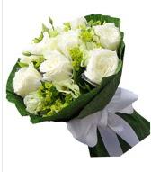 9 adet beyaz gül buketi  Zonguldak çiçek siparişi sitesi