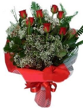 7 kırmızı gül buketi  Zonguldak çiçek servisi , çiçekçi adresleri