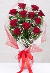 11 kırmızı gülden buket çiçeği  Zonguldak 14 şubat sevgililer günü çiçek