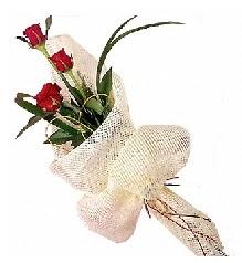 3 adet kırmızı gül buketi  Zonguldak güvenli kaliteli hızlı çiçek