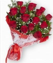 11 adet kırmızı gül buketi  Zonguldak anneler günü çiçek yolla